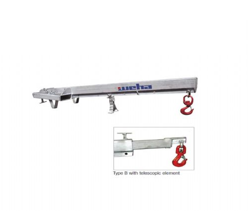 Weha Rigid Boom for Fork-Lift Truck Operation Type A/B