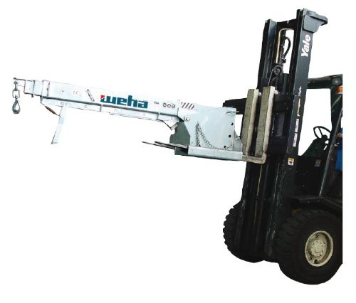Weha Boom for Fork-Lift Truck Operation