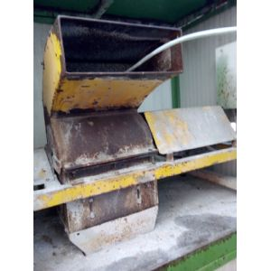 Marble Chipper for grading stone.