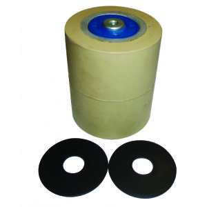 Rubber Rollers for Marmo Meccanica Edge Polishing Machine