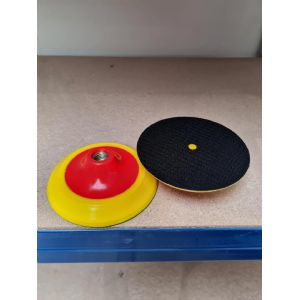 125mm velcro backing pads