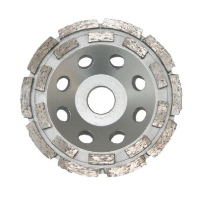 100/125/180mm Double Row Stone Cup Wheels