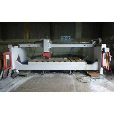 Metalquattro CN315W semi-programmable bridge saw