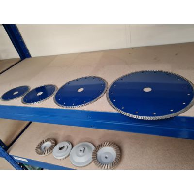 Massive Clearance on: Blades & Cup Wheels
