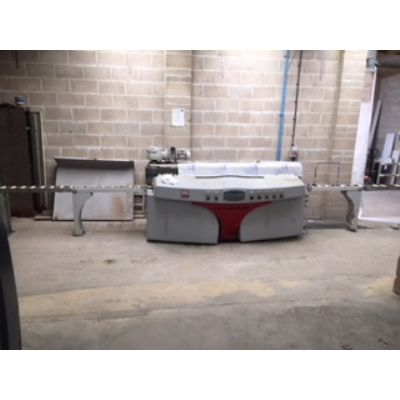 Sasso Meccanica flying flat granite edge polisher,