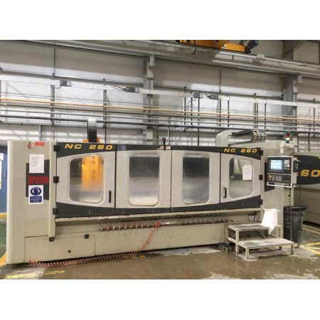 Perfect example - Breton NC 260 CNC