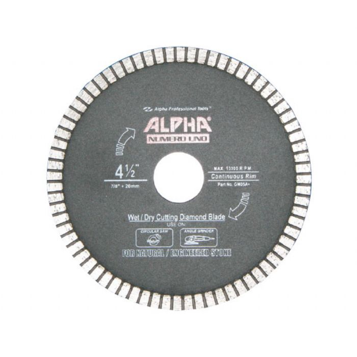 Alpha Wet Cut Diamond Blade