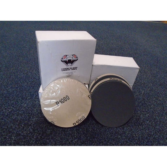 Venom Velcro Backed Paper Discs 125mm